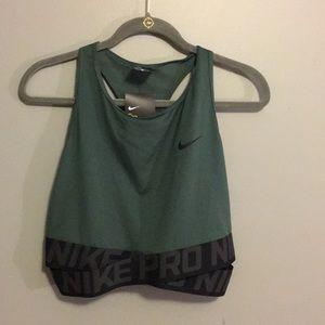 NWT Nike Pro crop top